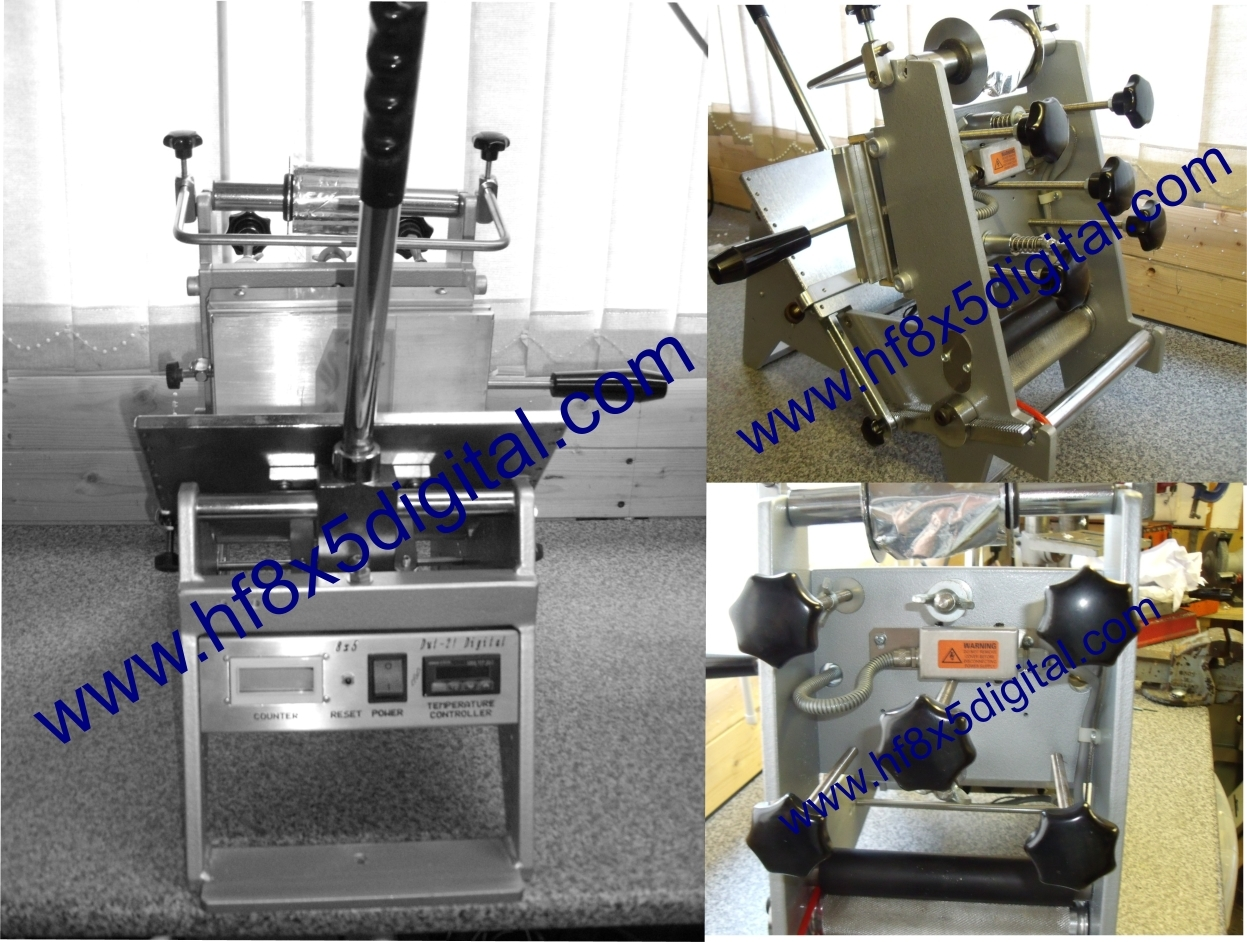 hot foil blocking machine