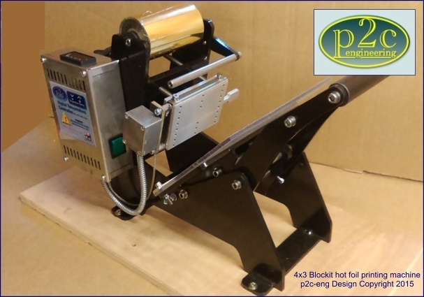 4x3 Blockit  basic machine with AUTO FOIL ADVANCE (Contact us before ordering)