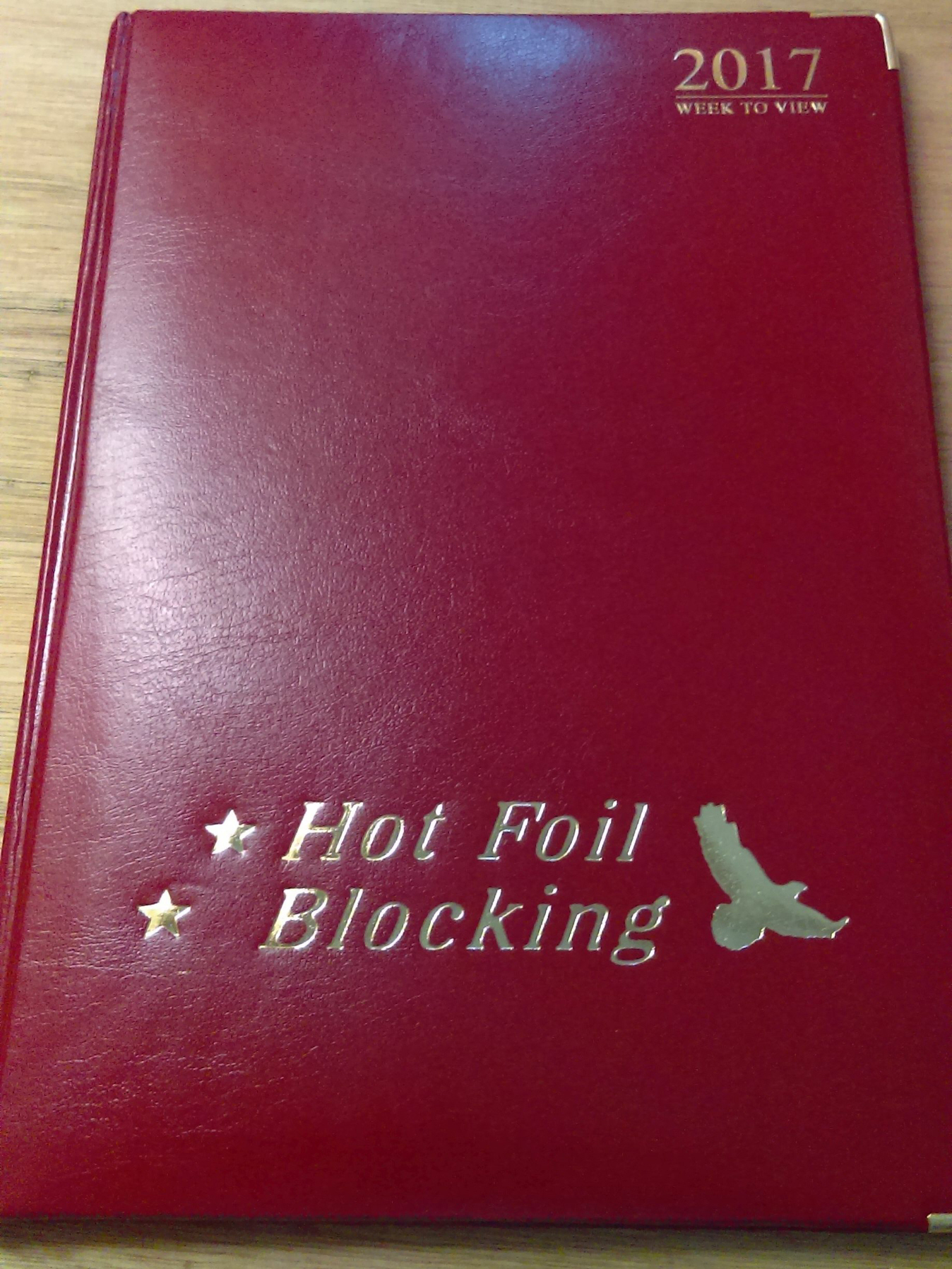 A4_Diary_hot_foil_printing_stamping_blocking_how_to_print