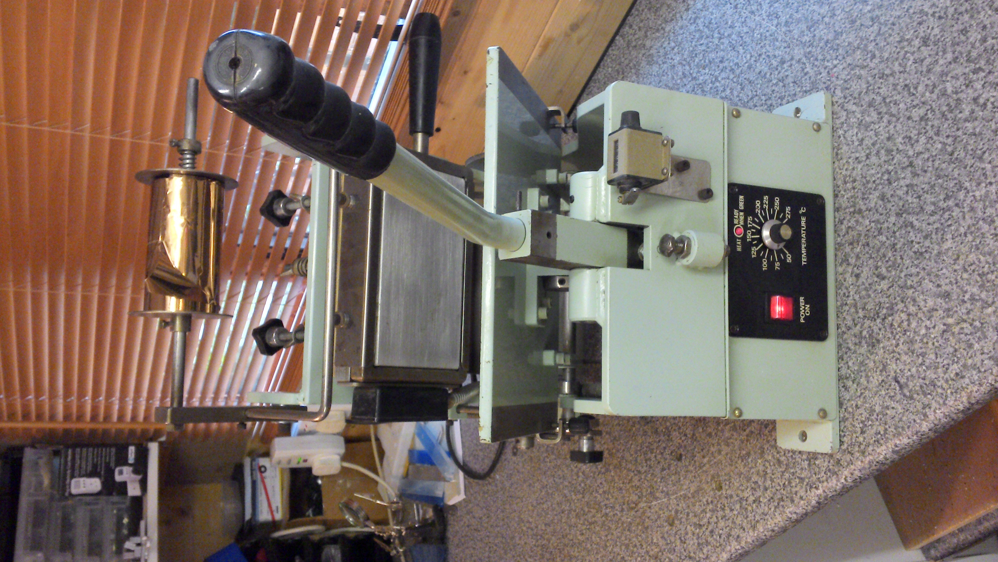 SOLD J.T. Marshall (series 82) hot foil printing machine